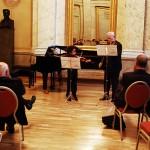 Akim C. mit Lothar de Maizière bei einem TVF Konzert