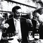 Nach dem offiziellen Teil nahm sich Ministerpräsident Matthias Platzeck noch Zeit für Gespräche in kliner Runde, hier mit Dieter Oetjeng, Geschäftsführer der TVF (r.) Foto: Roland Holtas